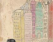 STRENGTH Elephant Art Print