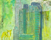 Unexpected Angels at Bunker Hill - Coyote Fine Art Print