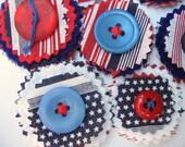 Patriotic Roundie Embellishments