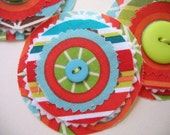 WHEELS AND STRIPES ROUNDIES