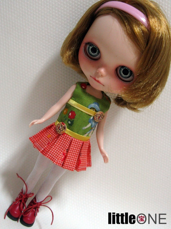 house of FACES - LN512 littleFORGETmeNOT Mini Dropped Waist Pantdress