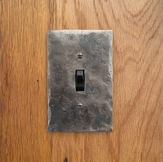 Switch Plate - Hammer Textured Single Switch/Toggle Wall Plate