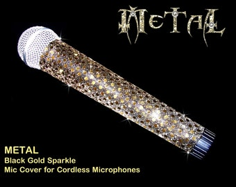 MICROPHONE COVER SKINS (Metal) for Cordless Microphones