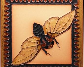 Twilight Cicada - 8x8 - Made to Order