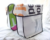 VELO-LOVE Hand made and painted bicycle bags