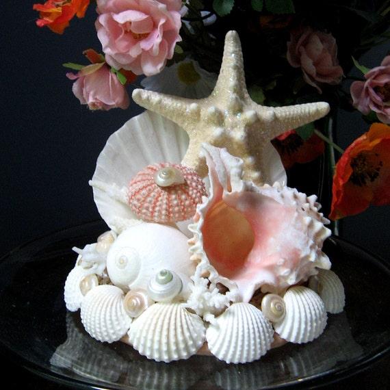Wedding Coral Reef Keepsake Seashell Wedding Cake By Shellscapes