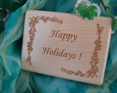 50% OFF,  Jewelry, Jewelry Box, Mini, Wood, Felt Lined, Personalized Engraving