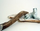 Elk Antler Dog Chew -XX-Large Half or Whole Sized for Dogs over 110 lbs.