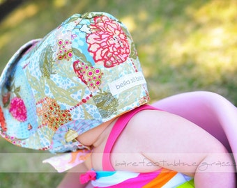 CREATE your own BONNET, choose from any fabrics in any Etsy shop, or match your Tula carrier, by Bella Sol Bebe