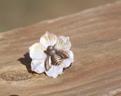 Cute BumbleBee Ring-25mm Flower