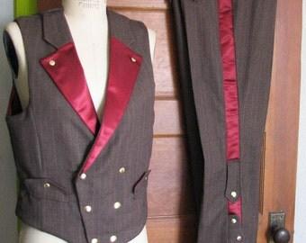Steampunk Tux (Vest and Pant)