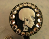 XRay ID Badge Reel Holder using Swarovski Elements