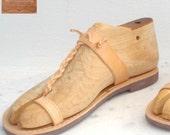 Greek Roman leather sandals for men
