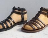 Greek Sandals Roman Grecian handmade leather sandals for men