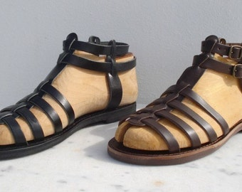 Greek Sandals Roman Grecian handmade leather sandals for men