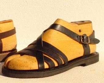 ANANIAS Greek Sandals Roman Grecian handmade leather sandals