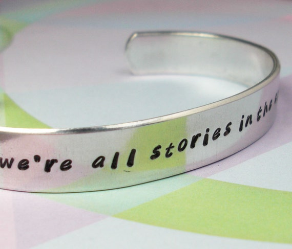 Doctor Who Bracelet: We're All Stories