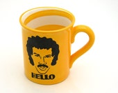 Lionel Richie HELLO mug Limited Edition in Harvest Gold
