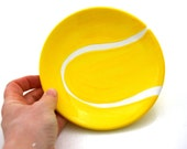 Tennis ball soap dish ring hiolder trinket holder