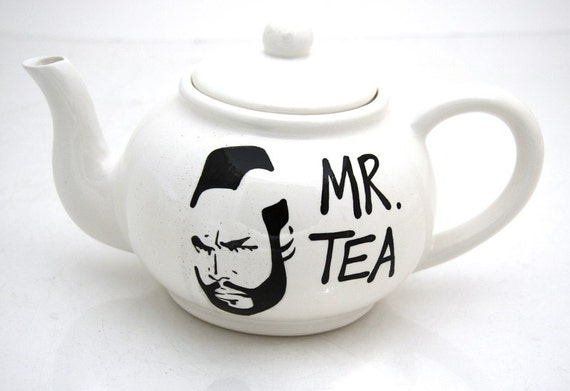 Mr.  T Tea Teapot large