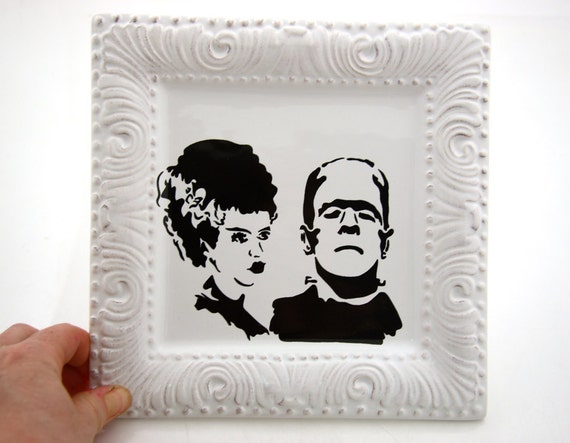 Halloween Wedding Gifts: Mr And Mrs Frankenstein Halloween Wedding Gift Can Be By