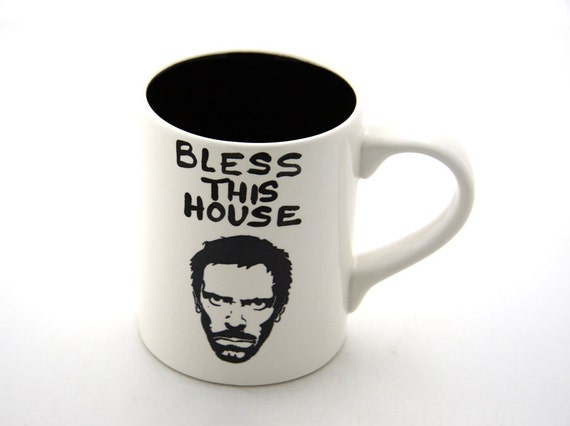 House MD Hugh Laurie Fan Art Mug