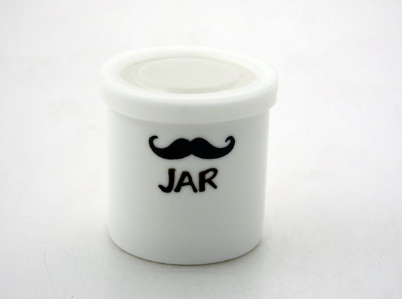 Mustache Small Stash Jar