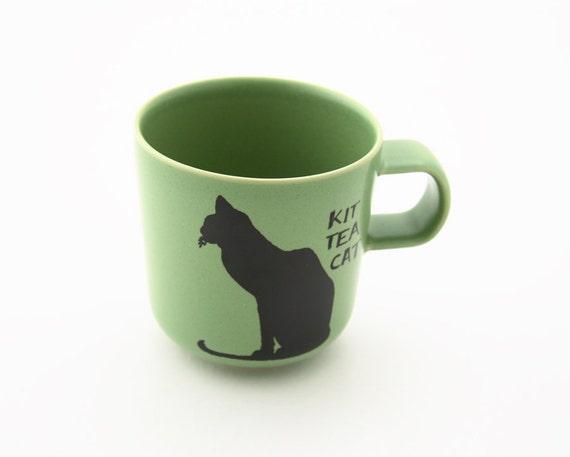 Cat Tea Lover Teacup Kit Tea Cat