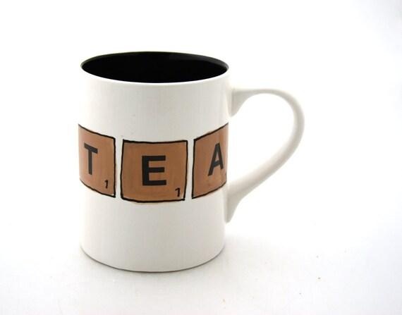 Tea Scrabble Tile Mug