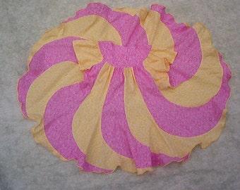 Swirly Twirly Spring Dress--Size 3 / 4