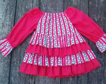 Infant Girls Christmas Dress Size 12 months