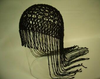 Reproduction Antique Renaissance Beaded Skullcap