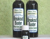 BREAKOUT BUSTER Organic cleanser Try Me size