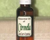 CITRONELLA Essential Oil, natural insect repeller