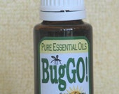 BugGO -  natural insect repelling essential oils, safe, nontoxic, deet free