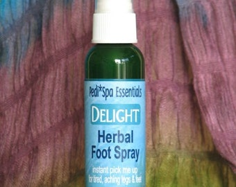 HERBAL FOOT SPRAY, instant pick me up for tired, aching feet