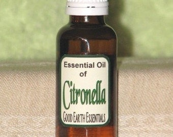 CITRONELLA Essential Oil, natural insect repeller