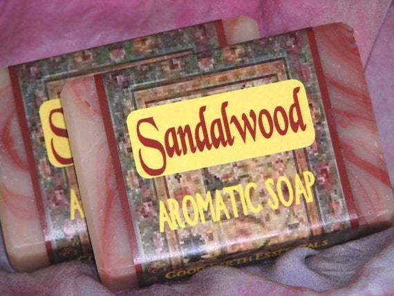 Sandalwood Musk Soap Exotic Scent For Men And Women