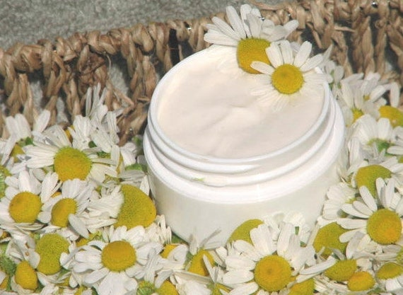 CHAMOMILE Eye Cream, Organic, relieves puffiness, melts away tension in eye muscles, soothing & calming all natural formula