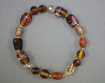 Bracelet of Fall Colors