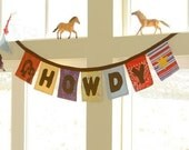 HOWDY Fabric Banner