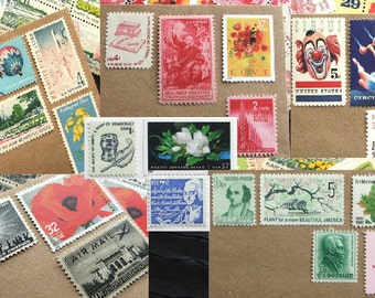 YOUR CHOICE .. 47 cent .. Vintage UNused Postage Stamps .. to post 100 1oz standard envelopes