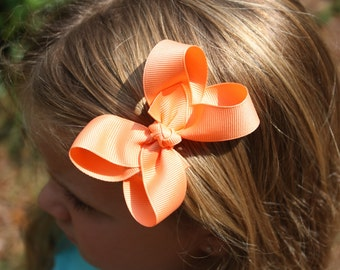 Simply Apricot  3' Basic Bow