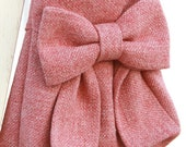 Child's Pink Bow Bag / Purse