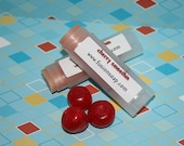 Cherry Smoothie Lip Balm Natural Handmade with cocoa butter and shea butter