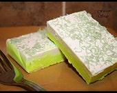 KEY LIME PIE handmade vegan friendly soap