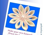 Kanzashi Tutorial Fabric Flower Tutorial Kanzashi Flower Tutorial Exclusive Style Kanzashi Flower Tutorial Fabric Flower Guidelines