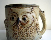 Vintage Owl Mug