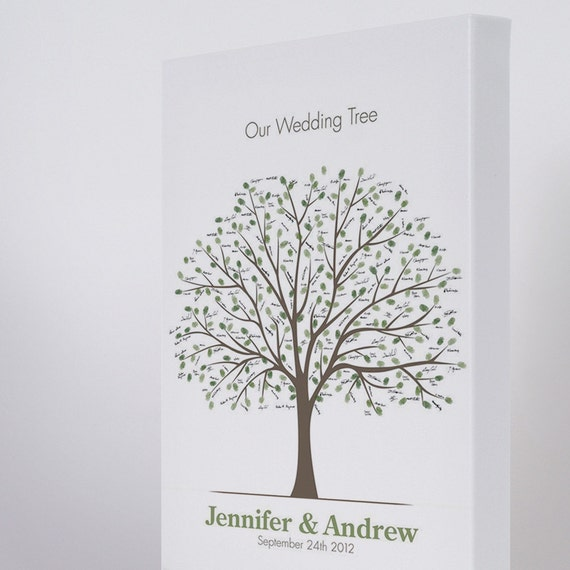 items similar to premium canvas wedding tree on etsy