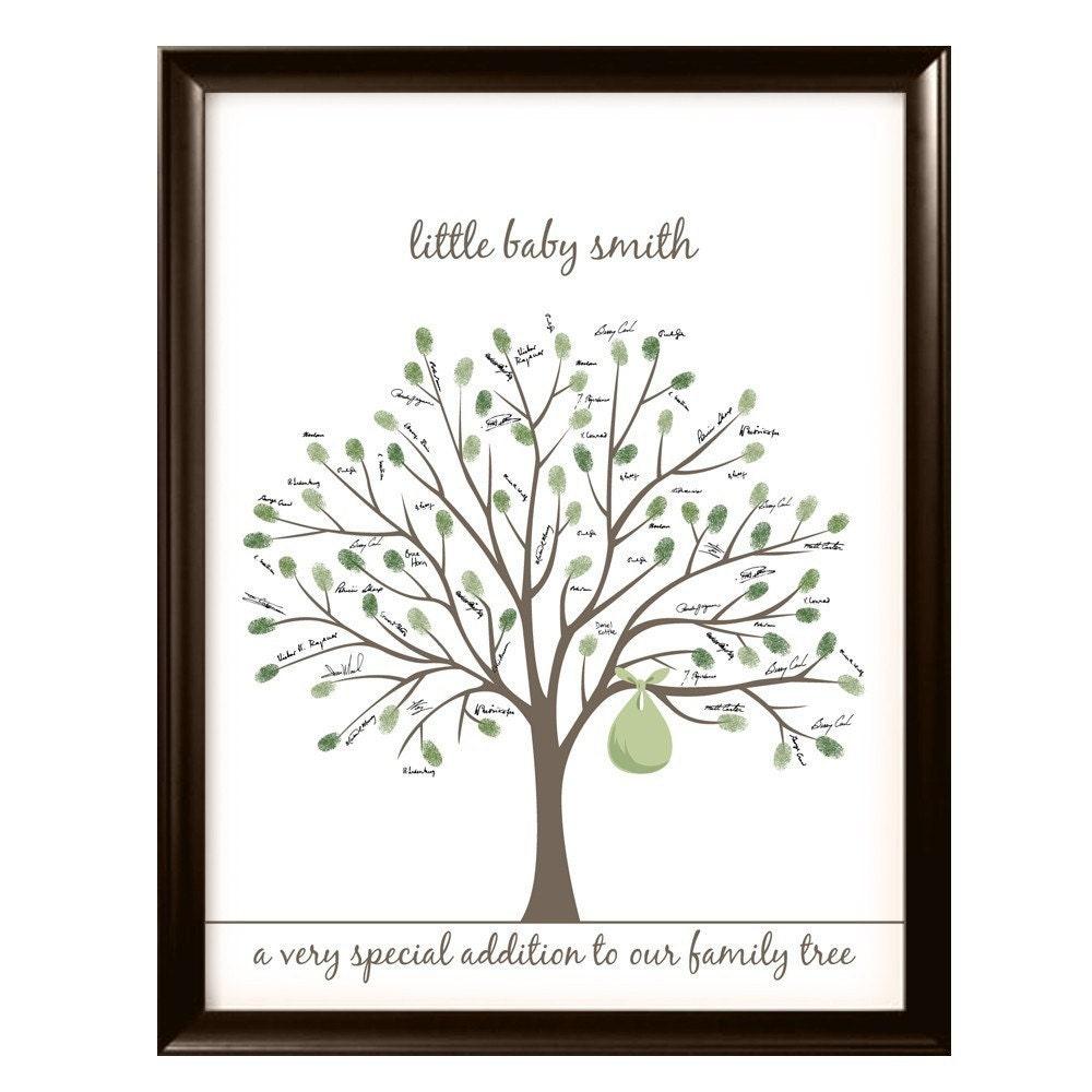 printable baby shower tree pdf